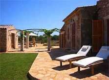 Terrasse Gästehaus Finca Mallorca Ostküste PM 630