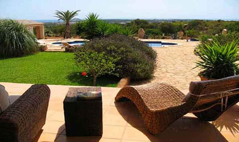 Terrasse Finca Mallorca Ostküste PM 630