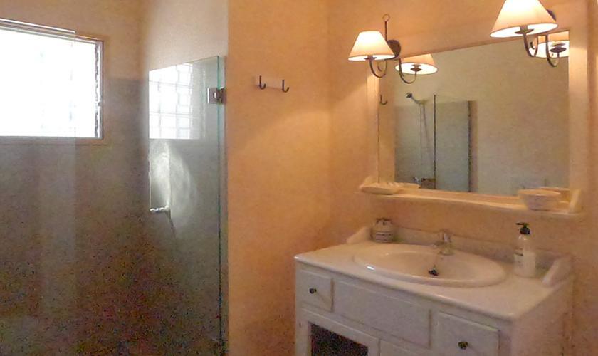 Badezimmer Ferienhaus Mallorca Portocristo PM 6346