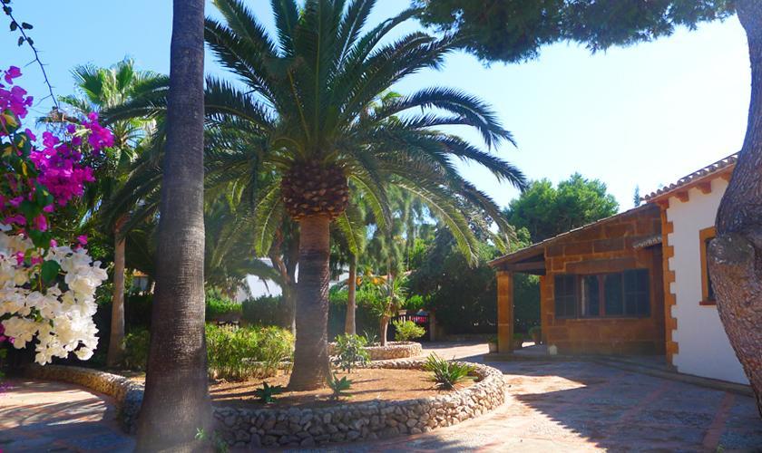 Garten Villa Portocristo Mallorca PM 6346