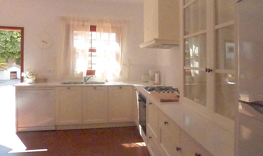 Küche Villa Portocristo Mallorca PM 6346