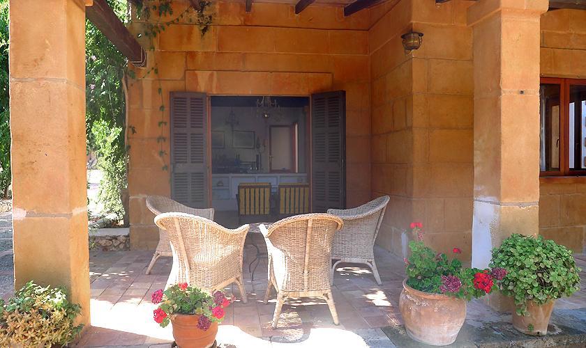 Terrasse Villa Portocristo Mallorca PM 6346