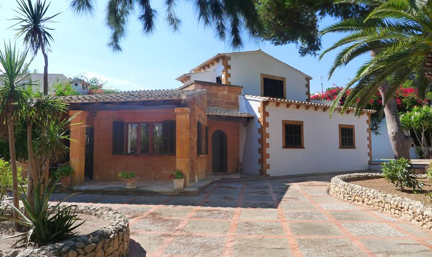 Blick auf das Ferienhaus Mallorca Portocristo PM 6346