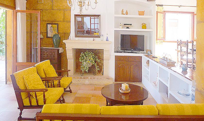Wohnraum Villa Portocristo Mallorca PM 6346