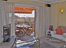 Wohnraum Ferienwohnung Mallorca Santanyi für 4 Personen PM 6432
