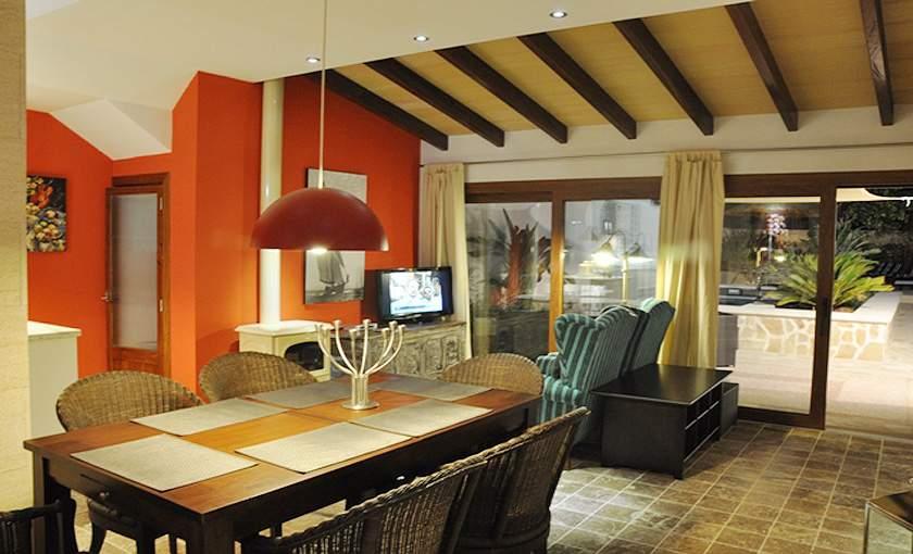 Essplatz Ferienhaus Mallorca Santanyi PM 644 für 6 Personen
