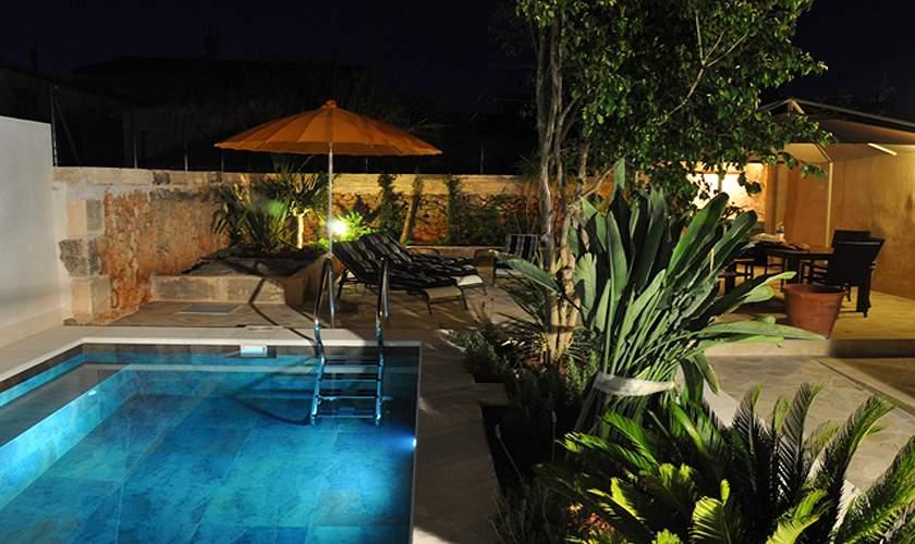 Pool und Patio Ferienhaus Mallorca Santanyi PM 644 für 6 Personen