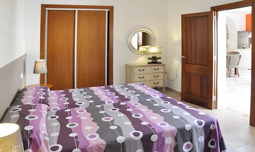 Schlafzimmer Ferienhaus Mallorca Santanyi PM 644 für 6 Personen
