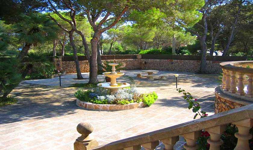 Garten Ferienvilla Mallorca Süden PM 645