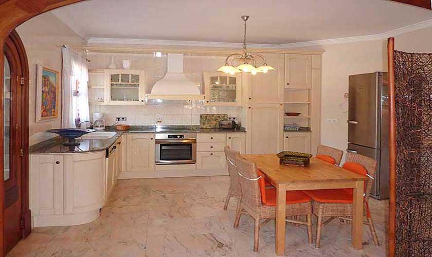 Küche Ferienvilla Mallorca Süden PM 645