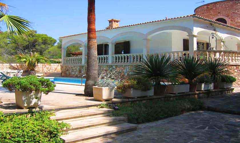 Garten und Ferienvilla Mallorca Süden PM 645