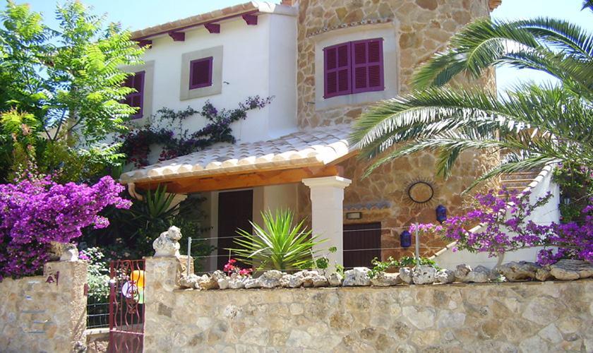 Front Ferienhaus Mallorca Cala Santanyi 2 Personen PM 647