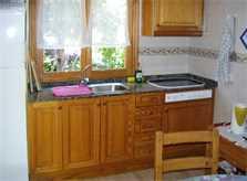 Küche Ferienhaus Mallorca Cala Santanyi 2 Personen PM 647