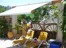 Terrasse Ferienhaus Mallorca Cala Santanyi 2 Personen PM 647
