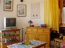 Wohnraum Ferienhaus Mallorca Cala Santanyi 2 Personen PM 647