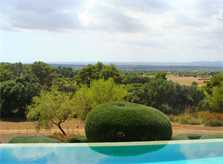 Garten und Pool Luxusfinca Mallorca Santanyi PM 650