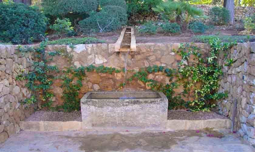 Brunnen Luxusfinca Mallorca Santanyi PM 650