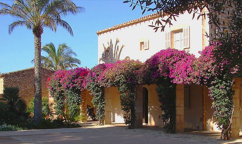 Blick auf die Finca Mallorca Südosten PM 650