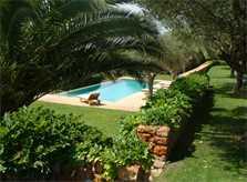 Pool und Garten Luxusfinca Mallorca PM 650