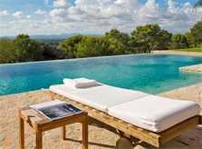 Pool und Liegen Luxusfinca Mallorca PM 650