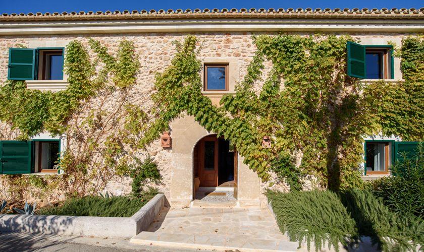 Eingang zur Finca Mallorca 10 Personen PM 6521