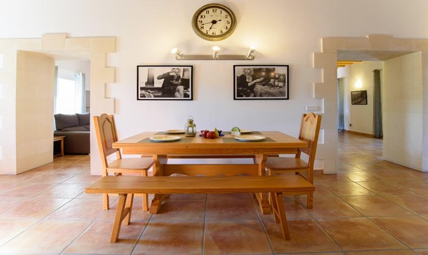 Küche Ferienfinca Mallorca 10 Personen PM 6521