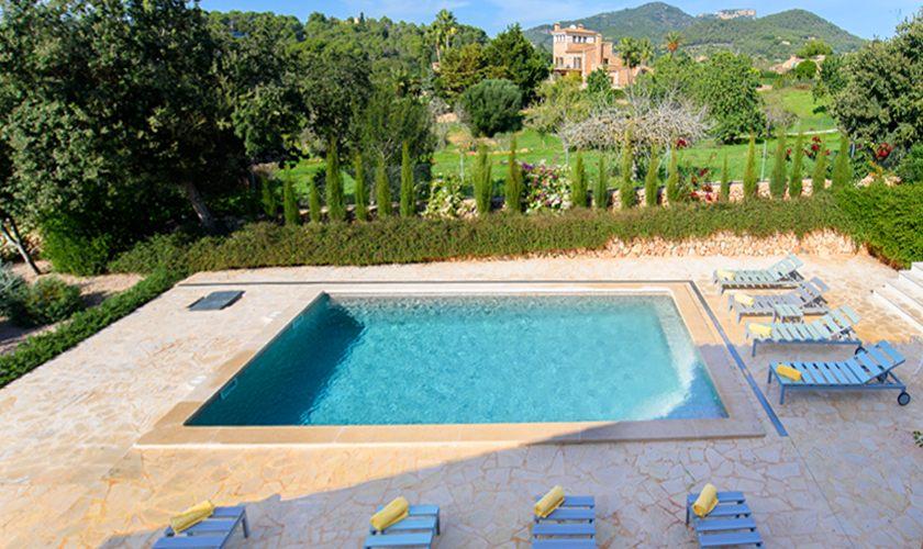 Poolblick  Finca Mallorca 10 Personen PM 6521
