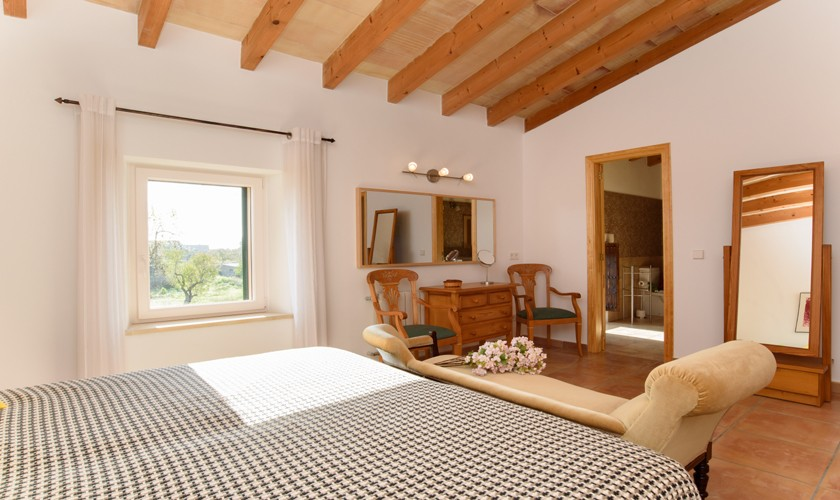 Schlafzimmer Finca Mallorca Pool PM 6521