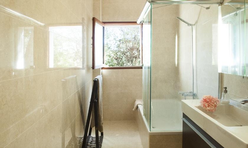 Badezimmer Ferienvilla Mallorca 8 Personen PM 6522