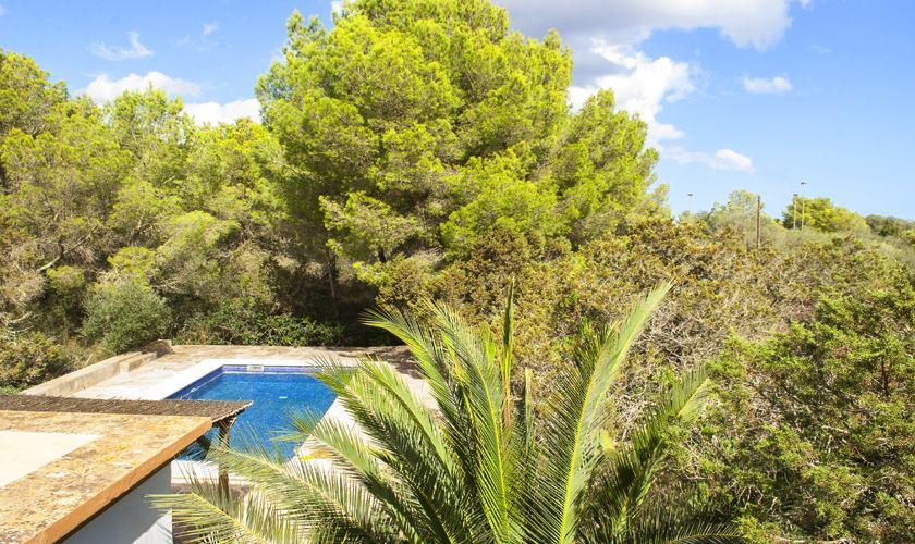 Poolblick Ferienvilla Mallorca 8 Personen PM 6522