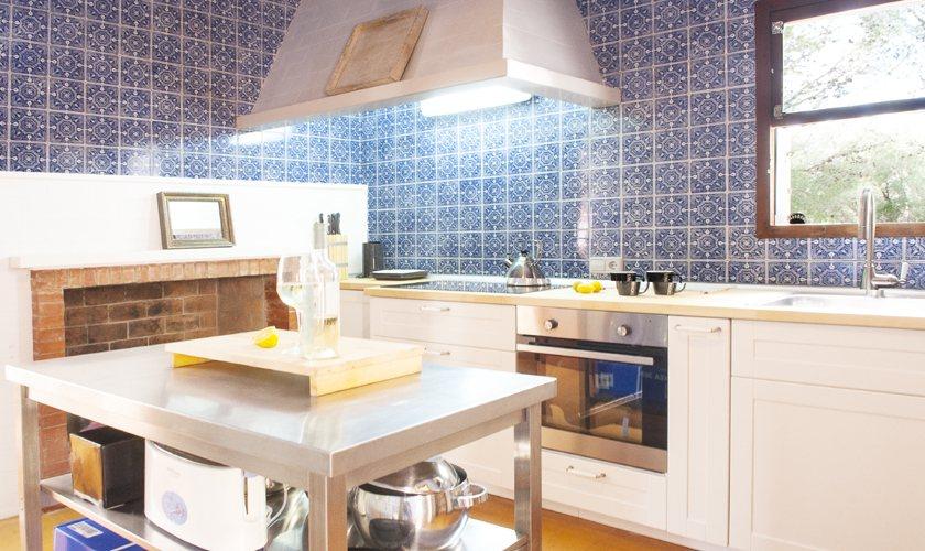Küche Ferienvilla Mallorca 8 Personen PM 6522