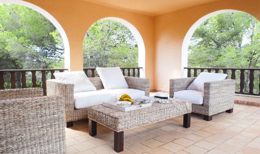 Loungeterrasse Villa Mallorca 8 Personen PM 6522