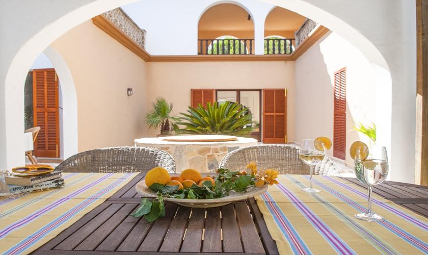 Terrasse Villa Mallorca 8 Personen PM 6522
