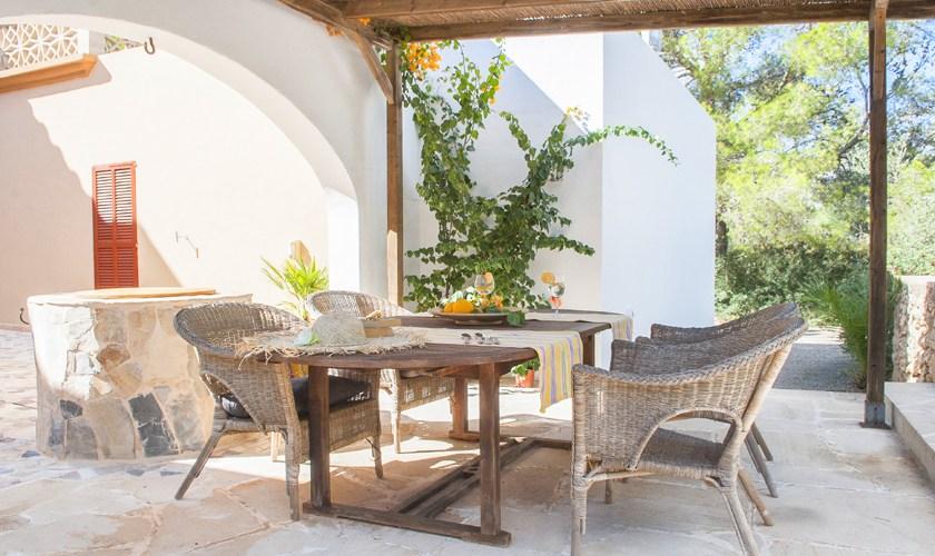 Terrasse Ferienvilla Mallorca 8 Personen PM 6522