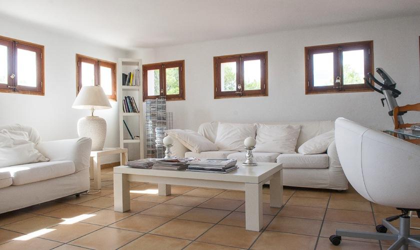Wohnraum oben Ferienvilla Mallorca 8 Personen PM 6522
