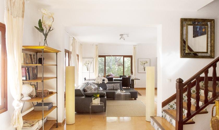Wohnraum Ferienvilla Mallorca 8 Personen PM 6522