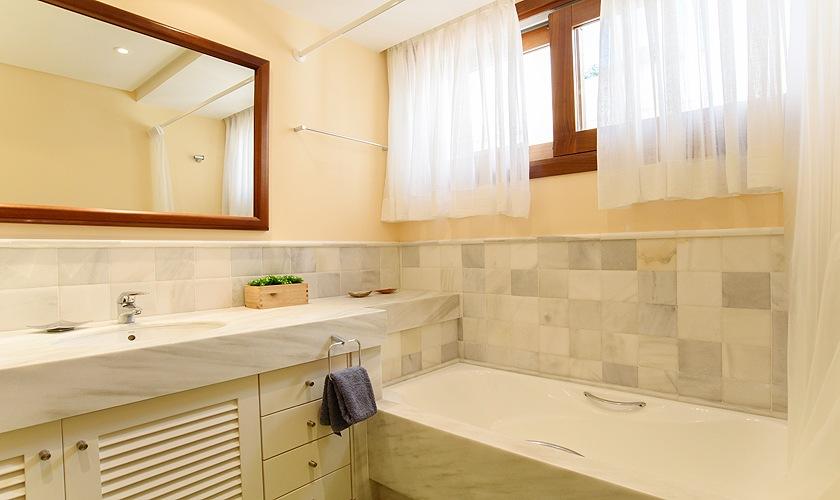 Badezimmer Ferienhaus Mallorca Cala d´Or PM 6523