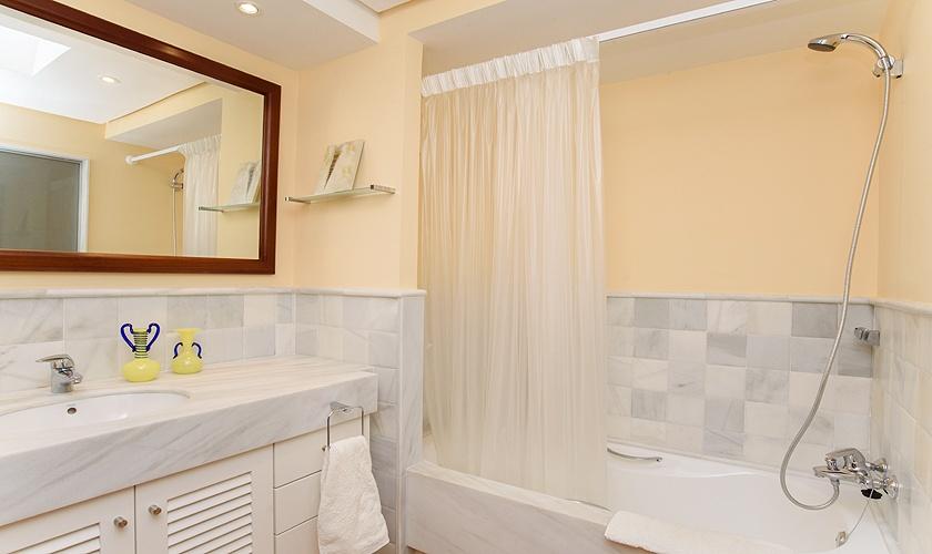Schlafzimmer Ferienhaus Mallorca Cala d´Or PM 6523
