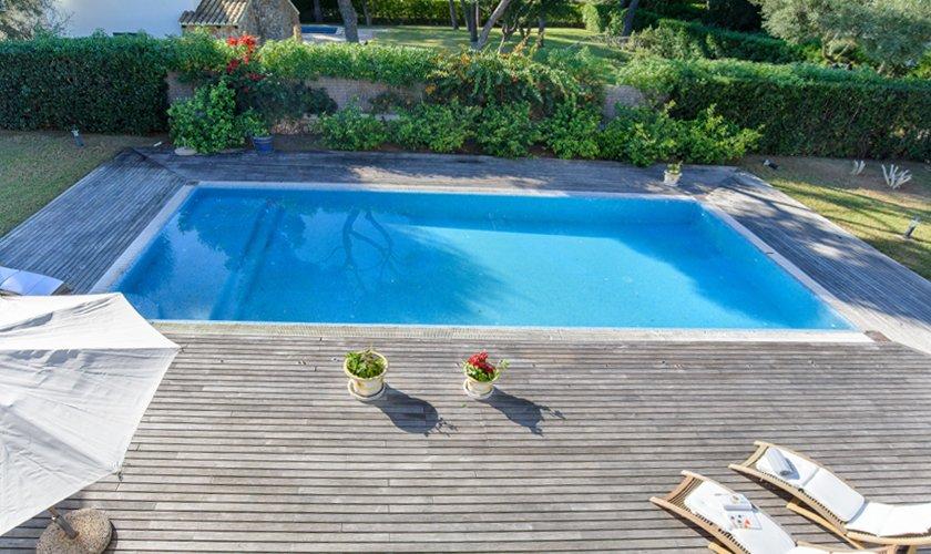 Poolblick  Ferienhaus Mallorca 8 Personen PM 6523