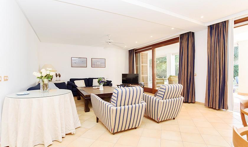Wohnraum Ferienhaus Mallorca 8 Personen PM 6523