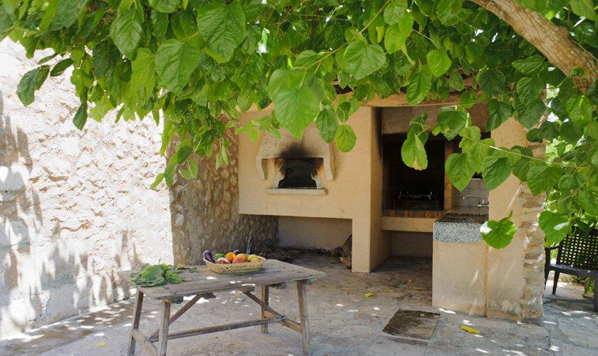 Außenküche Finca Mallorca 14 Personen PM 6525