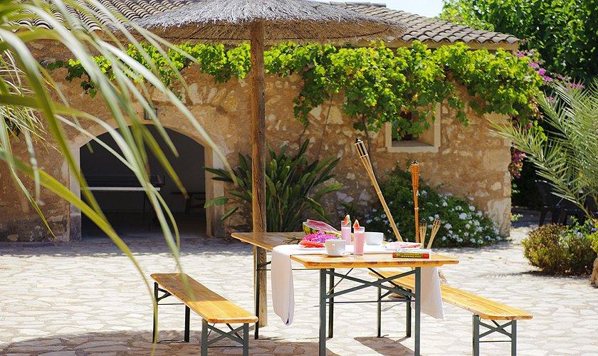 Terrasse Finca Mallorca 14 Personen PM 6525