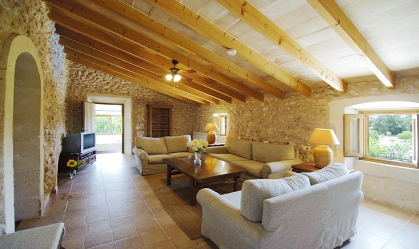 Wohnraum Finca Mallorca 14 Personen PM 6525