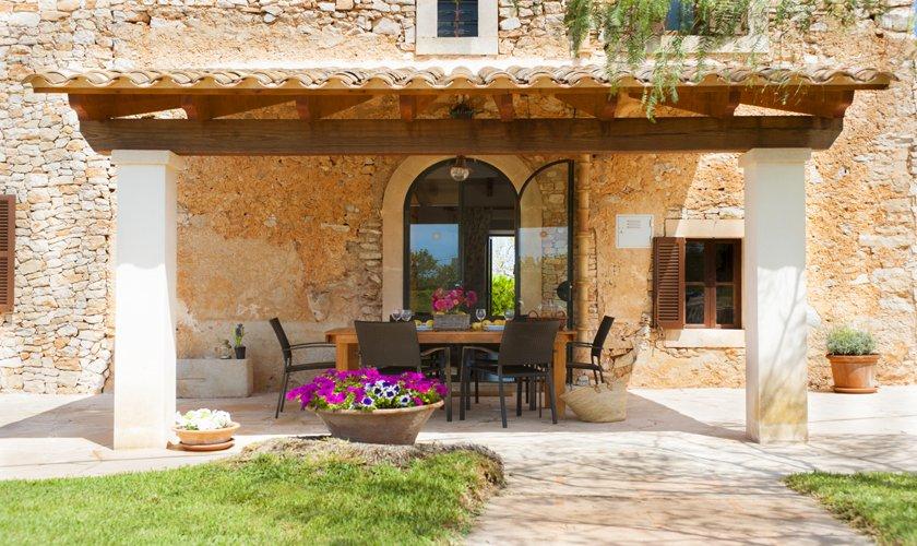 Terrasse Finca Mallorca 8 Personen PM 6526