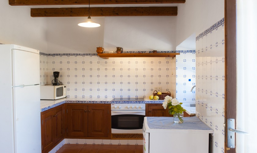 Küche Finca Mallorca 8 Personen PM 6526