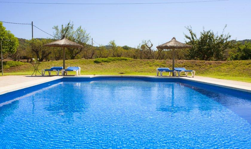 Poolblick Finca Mallorca 8 Personen PM 6526
