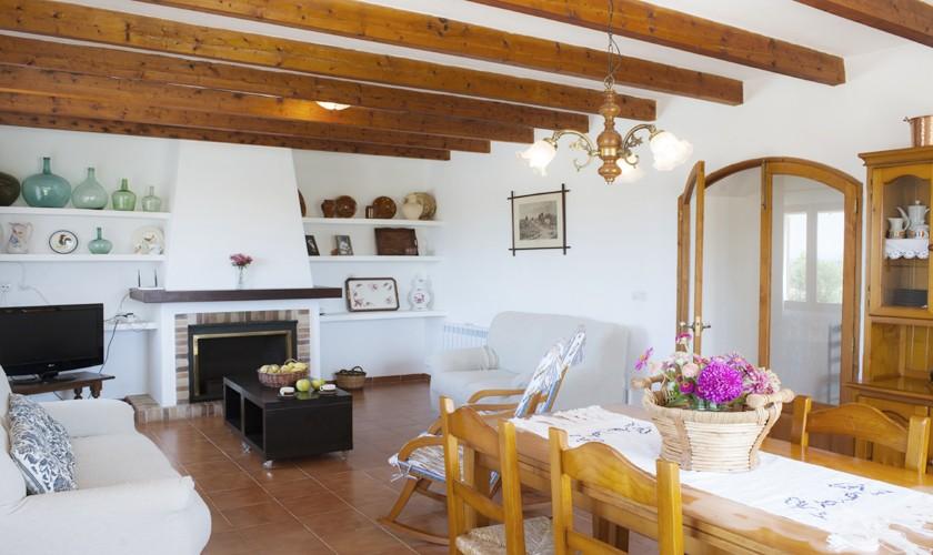 Wohnraum Finca Mallorca 8 Personen PM 6526