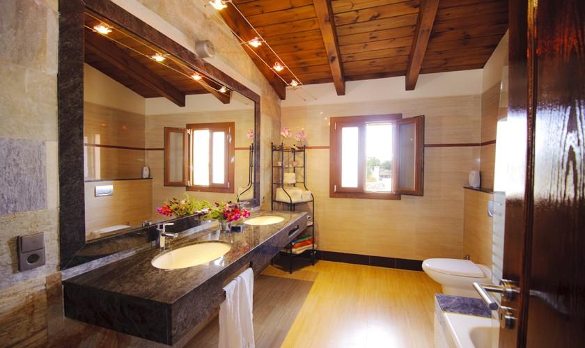 Badezimmer Finca Mallorca mit Pool PM 6527