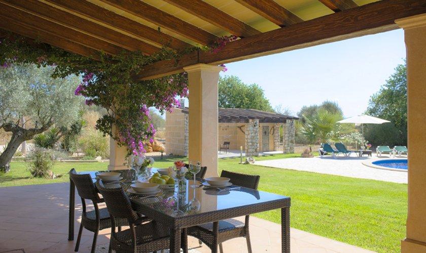 Terrasse Finca Mallorca 6 Personen PM 6527