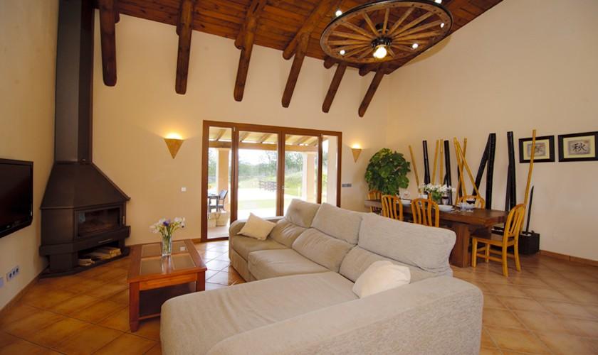 Wohnraum Finca Mallorca 6 Personen PM 6527